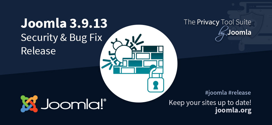 joomla 3913 security and bug update